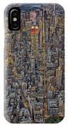 High Over Manhattan IPhone Case