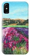 Highway 246 Flowers 3 IPhone Case