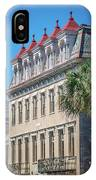 Historic Charleston South Carolina Downtown And Architetural Det IPhone Case