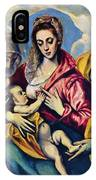 Holy Family With St Anne IPhone Case