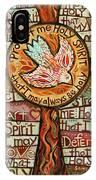 Holy Spirit Prayer By St. Augustine IPhone Case