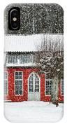 Hovdala Castle Orangery In Winter IPhone Case