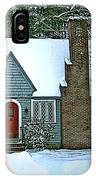 Howland House In Windsor IPhone Case