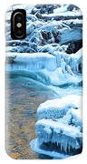 Icy Blue River IPhone Case