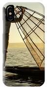Inle Lake Fisherman IPhone Case