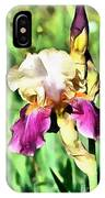 Iris Flower IPhone Case