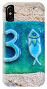 Jaffa, Pisces Zodiac Street Sign  IPhone Case