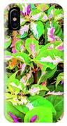 Jamaican Croton IPhone Case