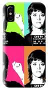 Jane Fonda Mug Shot X4 IPhone Case