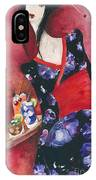 Japanese Girl IPhone Case