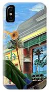 Jazz At The Orleans IPhone Case