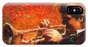 Jazz Trumpeter IPhone Case