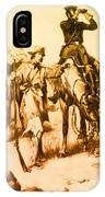 J.c. Fremont And His Guide, Kit Carson IPhone Case