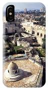 Jerusalem From The Tower Of David Museum IPhone Case