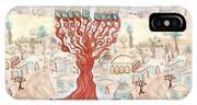 Jerusalem -watercolor On Parchment IPhone Case