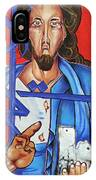 Jesus Tears IPhone Case