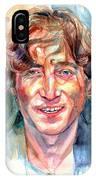 John Lennon Portrait IPhone Case