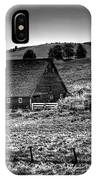 Johnson Road Barns IPhone Case