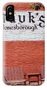 Jonesborough Tennessee Mauk's Store IPhone Case
