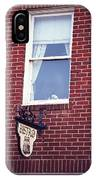 Jonesborough Tennessee - Window Over The Shop IPhone Case