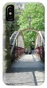 Jubilee Bridge - Matlock Bath IPhone Case