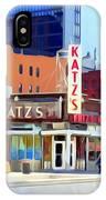 Katz's Delicatessan IPhone Case