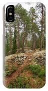 Kaukaloistenkallio Hillside View IPhone Case