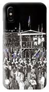 Kkk Services Capital Horse Show Grounds National Photo Co Arlington Virginia August 9 1925-2014 IPhone Case