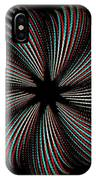 Knotplot 9 - Use Red-cyan 3d Glasses IPhone Case