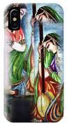 Krishna Prayer  IPhone Case