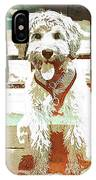 Labradoodle-wc 2 IPhone Case