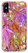 Lacy Maple Leaves IPhone Case