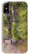 Landscape Near Louveciennes IPhone Case