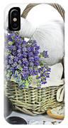Lavender Spa IPhone Case