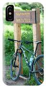 Leisure Cross Contry Cyclists IPhone Case