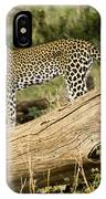 Leopard In The Forest IPhone Case