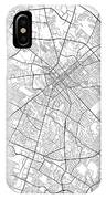 Lexington Kentucky Usa Light Map IPhone Case