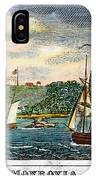 Liberia: Freed Slaves 1832 IPhone Case