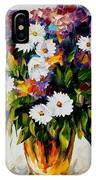 Lilac And Camomiles IPhone Case