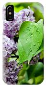 Lilac Drops IPhone Case