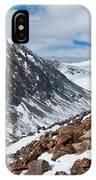 Lincoln Peak Winter Landscape IPhone Case