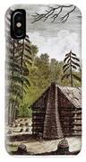 Log Cabin, 1826 IPhone Case