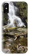 Log Hollow Falls North Carolina IPhone Case