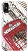 London Telephone 3b IPhone Case