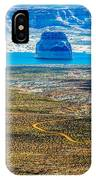 Lone Rock In Lake Powell Utah IPhone Case
