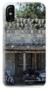 Longhorn Saloon IPhone Case