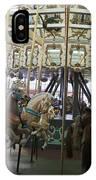 Looff Carousel Santa Cruz Boardwalk IPhone Case