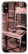 Loomis Ranch Chair IPhone Case