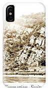 Lorelei Rock Formation, Switzerland, 1903 IPhone Case