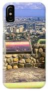 Los Angeles Skyline From Mulholland IPhone Case